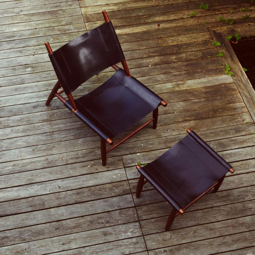 Muebles de diseño - Stellar Works Triangle Chair 1952 Vilhelm Wohlert