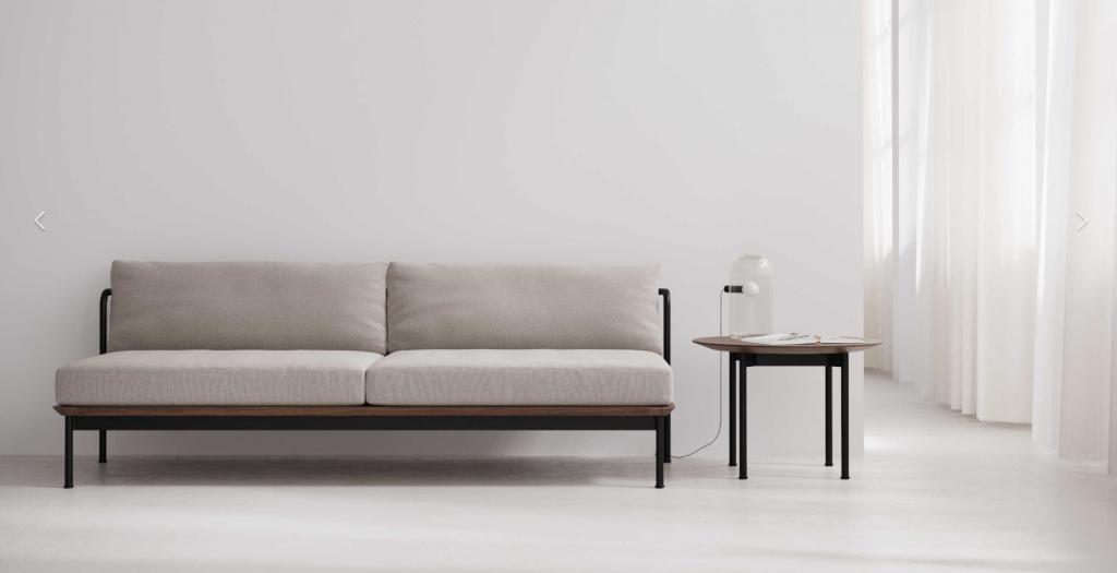 Sofá y mesa - Muebles Contract - Colección Crawford de Stellar Works