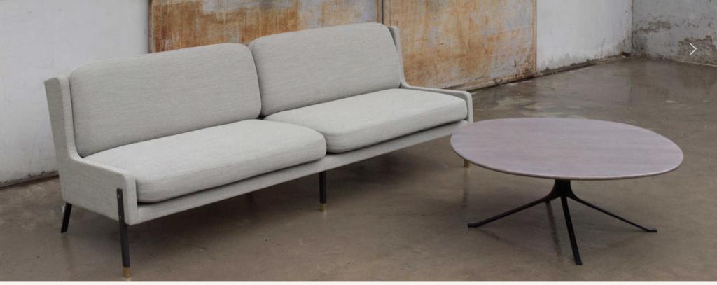 Arquitectura Interior Stellar Works Sofa Blink de 2 Asientos