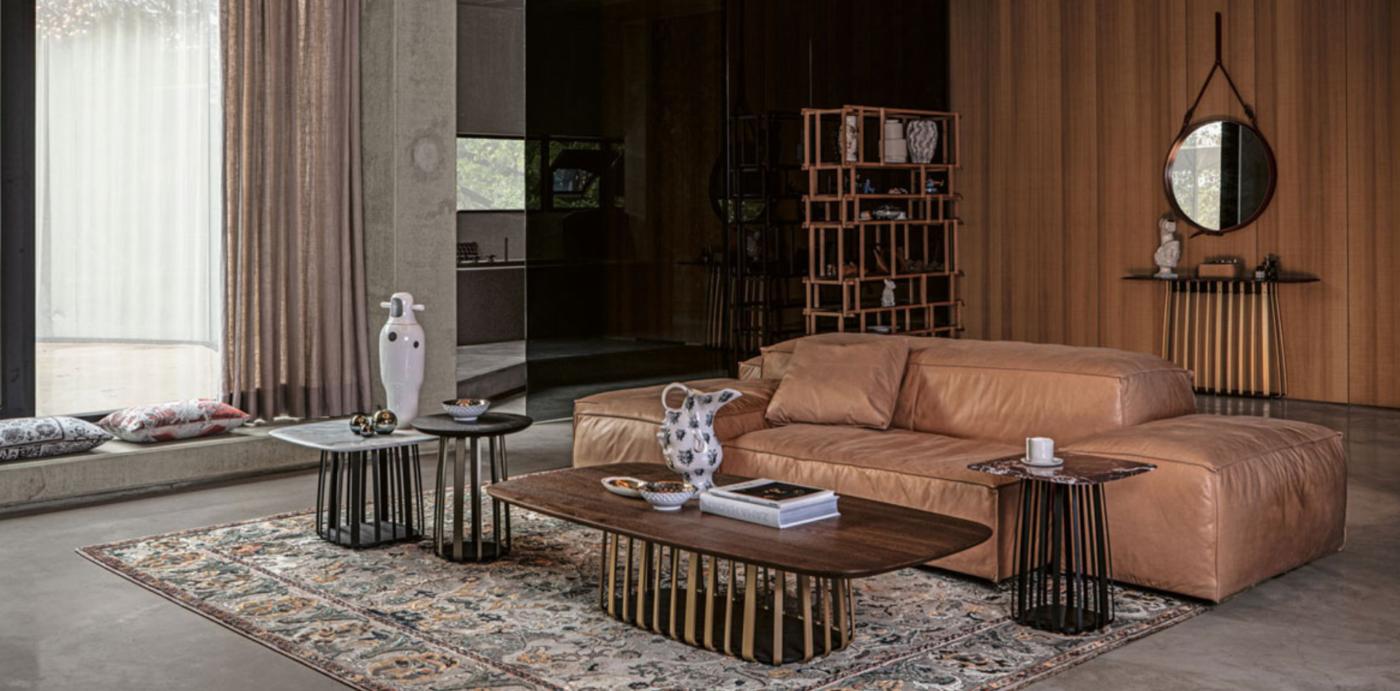 Janua, muebles atemporales. Colección de mesas Basket.