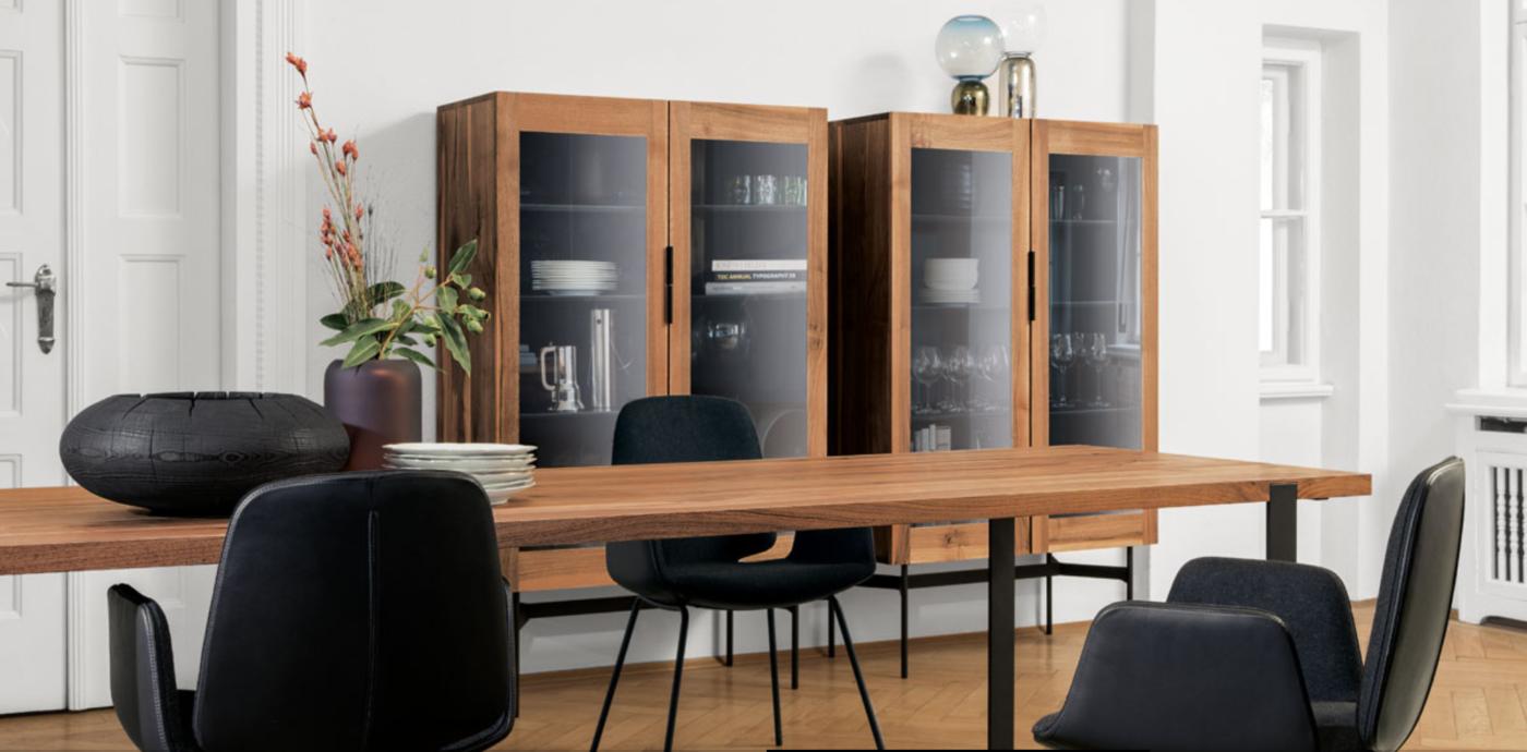 Janua, muebles fabricados con pasión. Vitrina de Janua