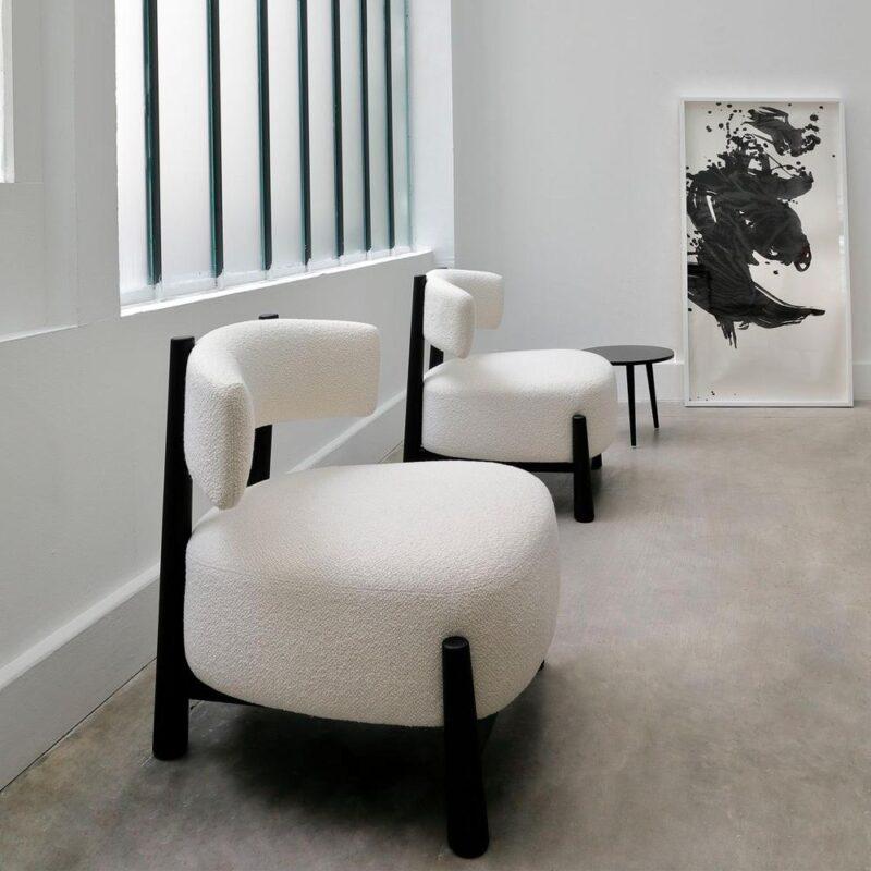 El sillón Dalya, diseñado por Patricia Urquiola para Coedition. ©NMILLET