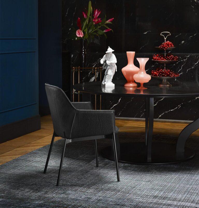 La silla Grace de Freifrau, firmes pero sin ocultar su lado tierno