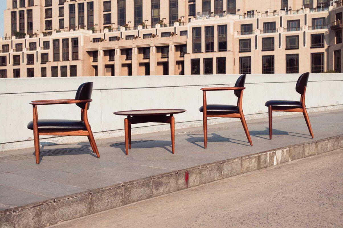 Colección de mesas y sillas Slow de Stellar Works