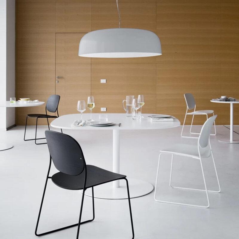 Lapalma Café - mesas Rondo y sillas Olo para Restaurante